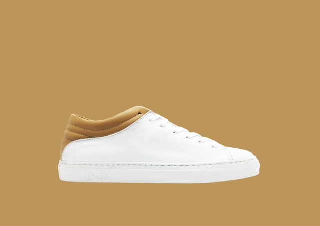 nat-2 Sleek Low white tan