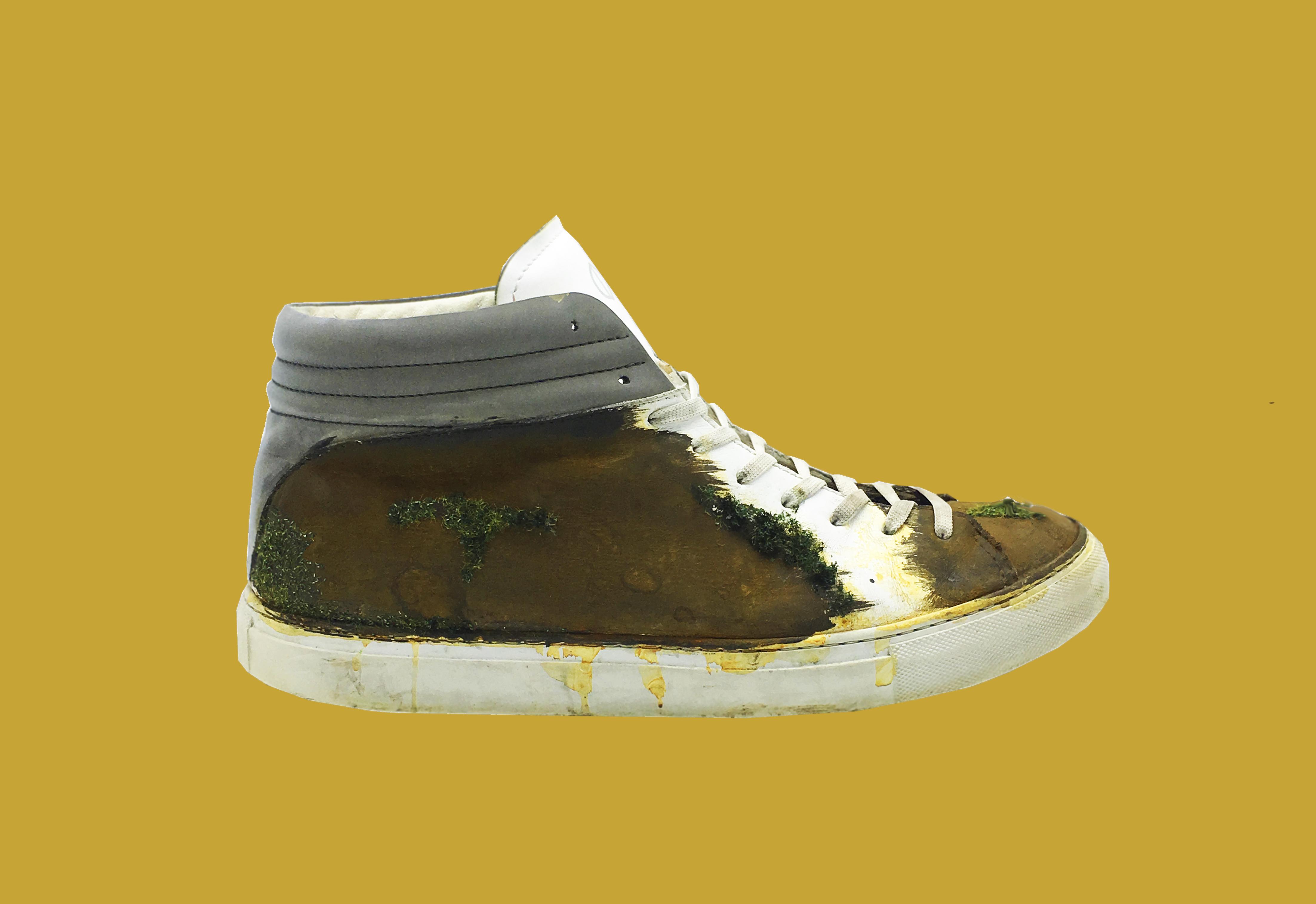 nat-2 Sleek real rust moss Sneaker 2 plain bck Kopie
