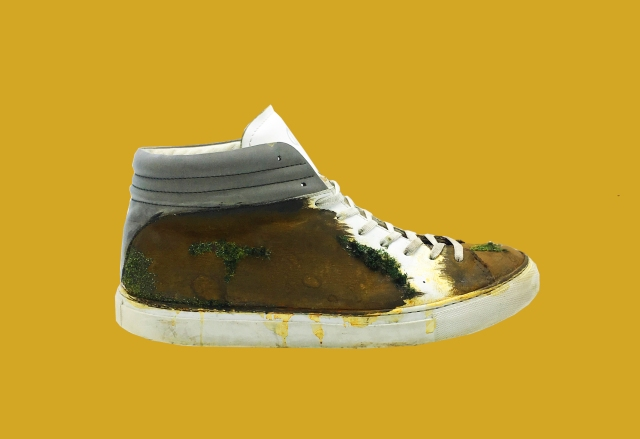 nat-2 Sleek real rust moss Sneaker 2 plain bck Kopie