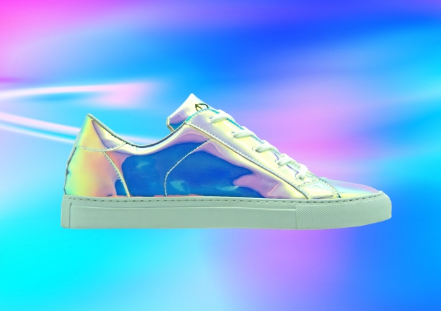 nat-2 ultra iridescent sneakers Kopie