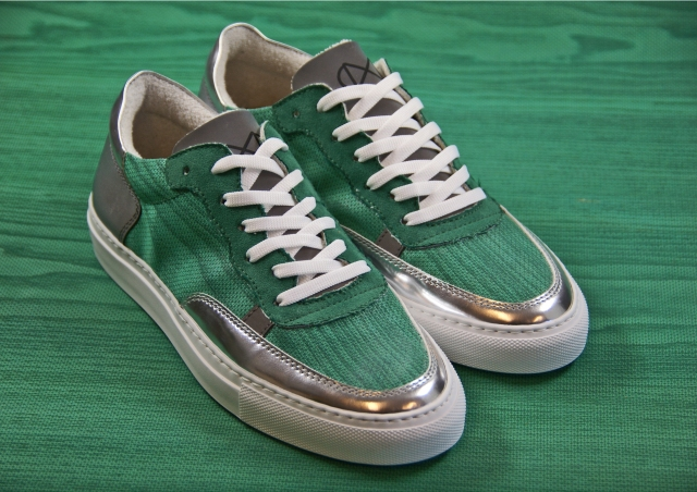 nat-2 Wood green sneaker