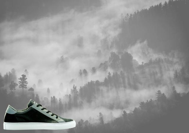 nat-2 wooden sneaker black ad