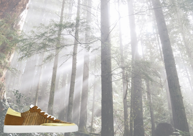 nat-2 wooden sneaker brown ad 2