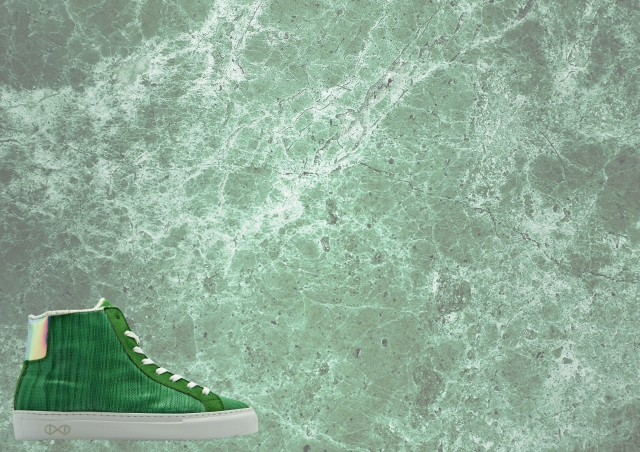 nat-2 wooden sneaker green ad 2