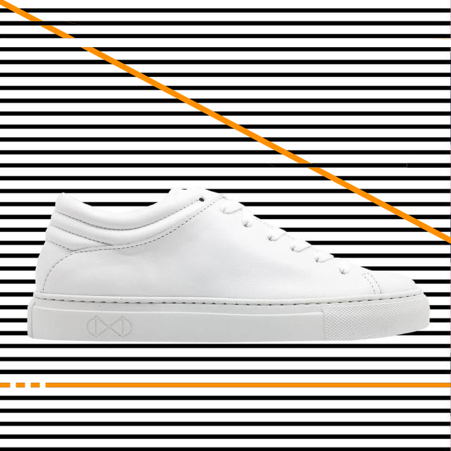nat-2 Sleek Low all white sneaker Kopie