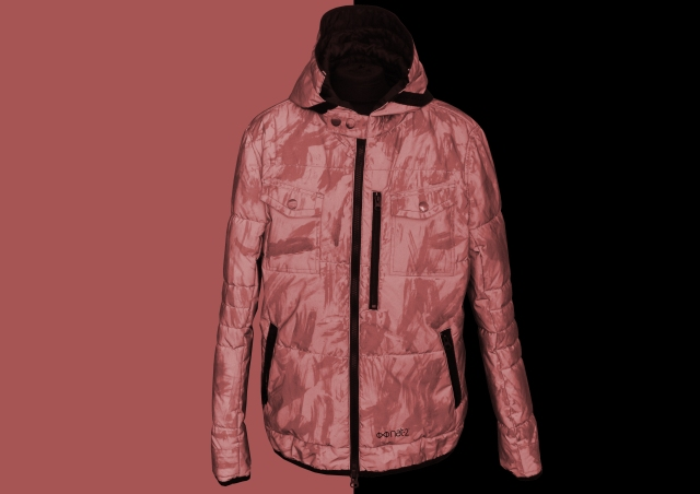 nat-2 iridescent reflective jacket red Kopie