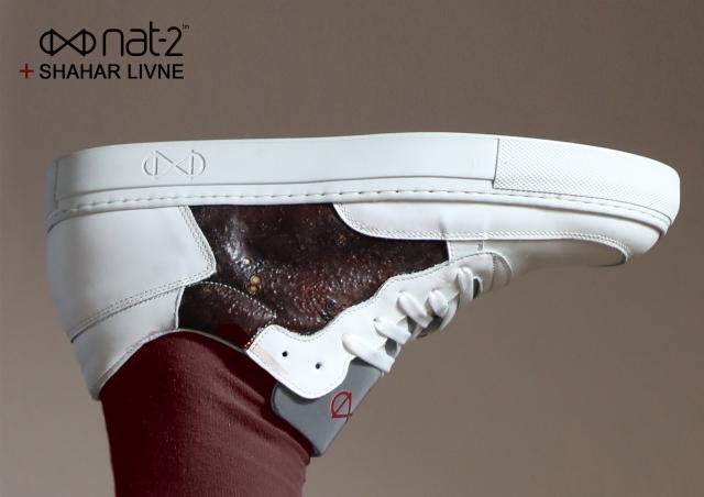 nat-2 x Shahar Livne Bllod Sneaker Kopie