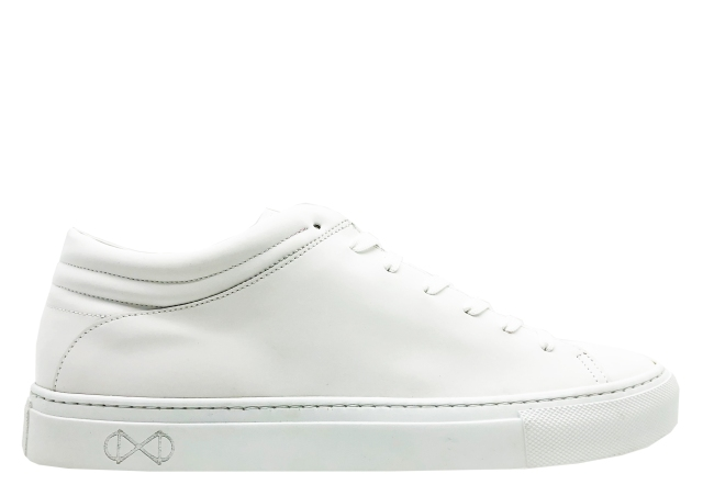 nat-2 Sleek Low vegan white reflective